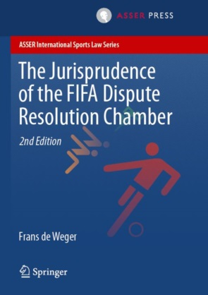 Frontcover The Jurisprudence of the FIFA Dispute Resolution Chamber