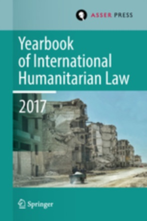 Cover Yearbook of International Humanitarian Law, Volume 20, 2017