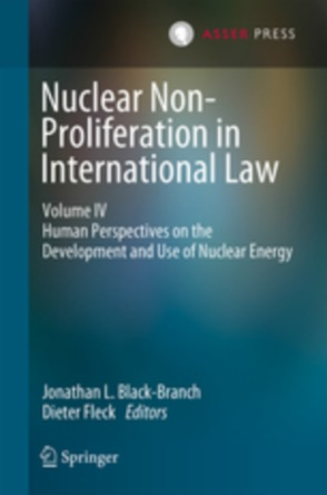 Cover Nuclear Non-Proliferation in International Law - Volume IV