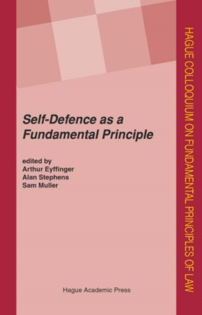 Self-Defence frontcover