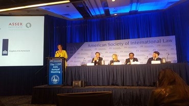 Asser at the 2019 ASIL Annual Meeting