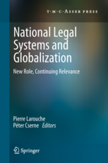 National legal systems and globalization - New role, continuing relevance