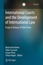 International Courts and the Development of International Law - Essays in Honour of Tullio Treves