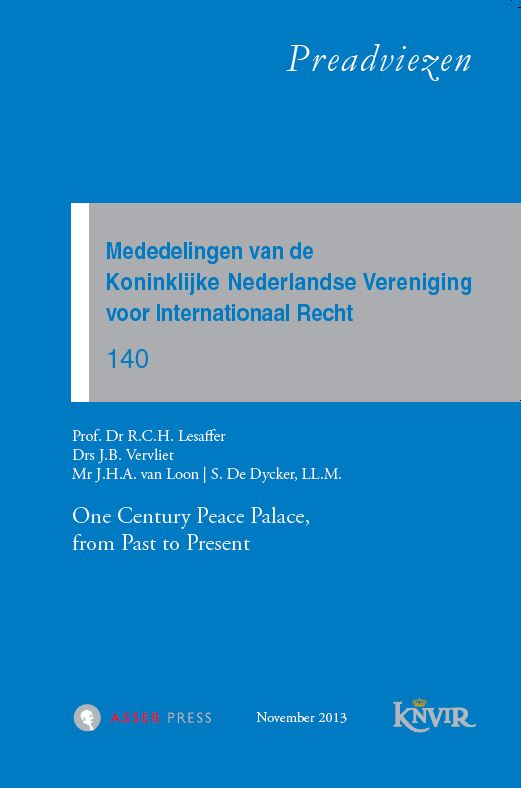 Frontcover KNVIR 140