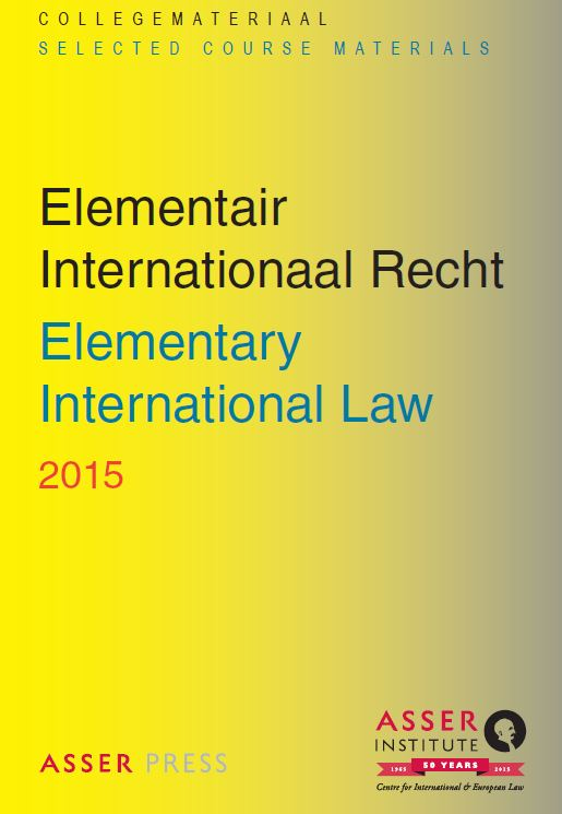Elementair Internationaal Recht 2015/Elementary International Law 2015