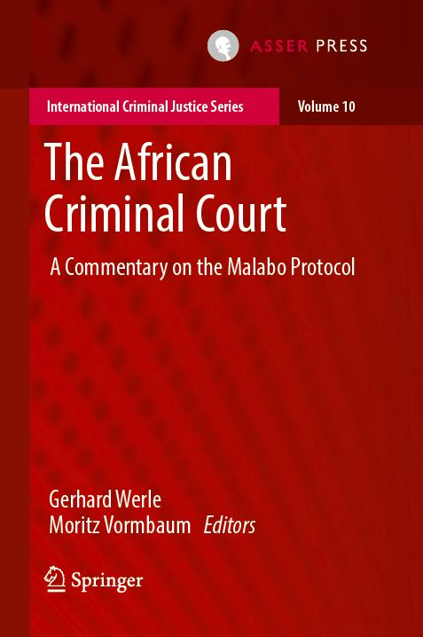 The African Criminal Court -  A Commentary on the Malabo Protocol