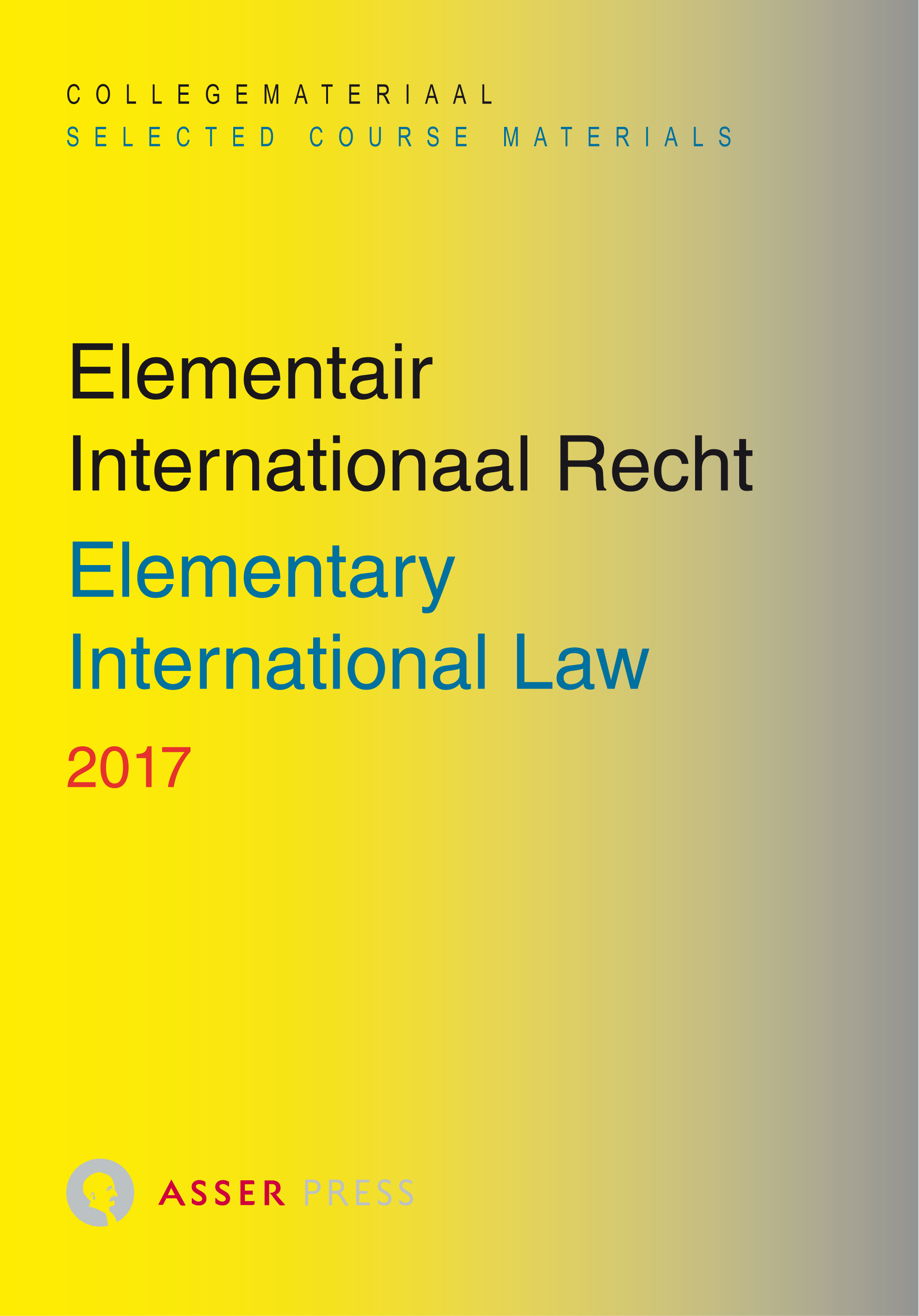 Elementair Internationaal Recht 2017/Elementary International Law 2017