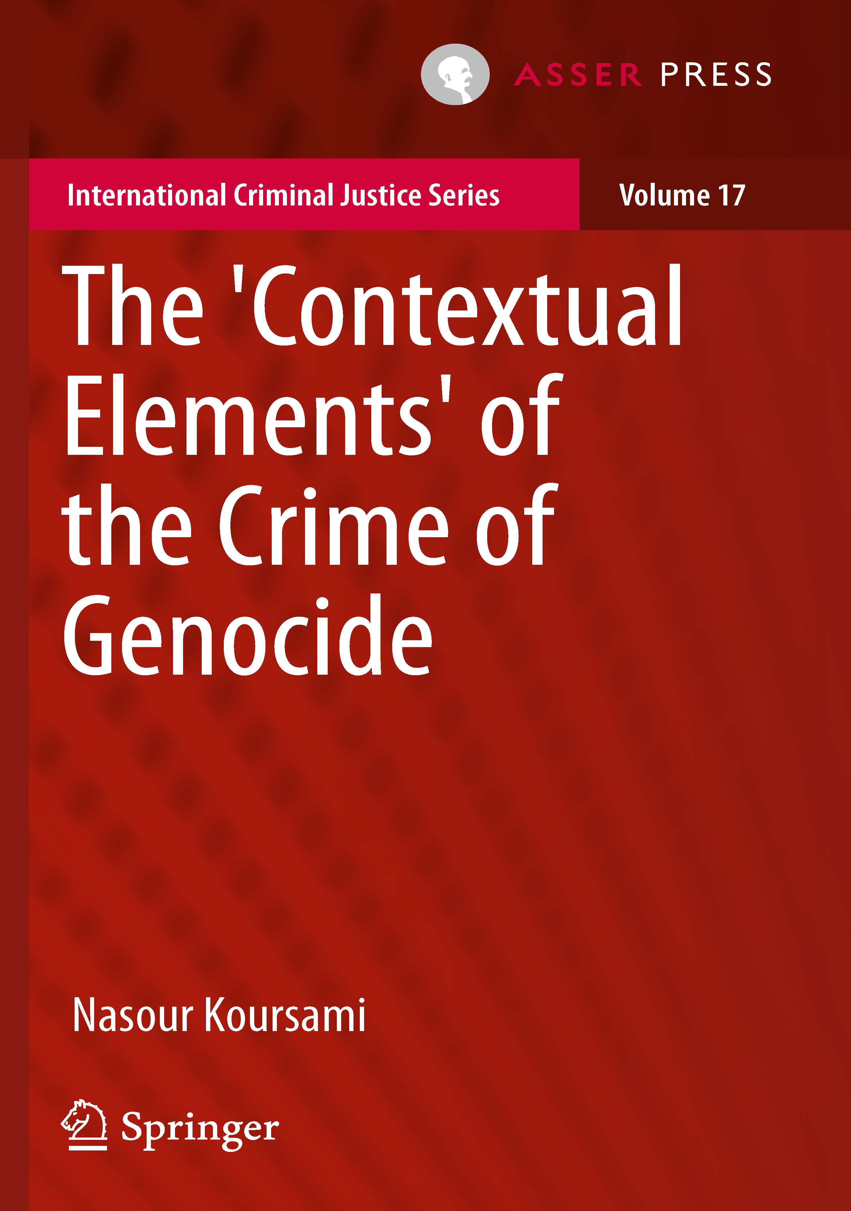 The 'Contextual Elements' of the Crime of Genocide