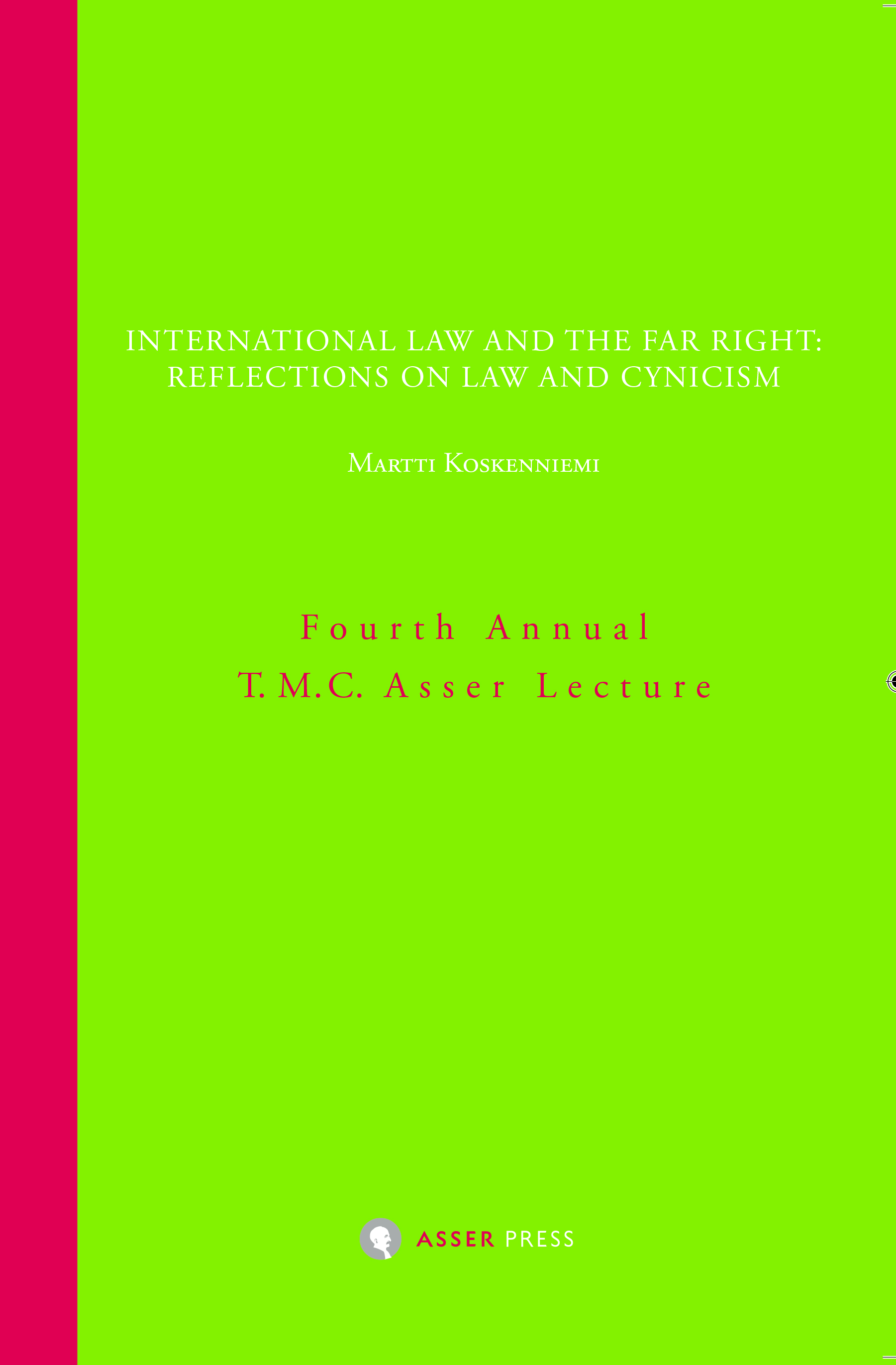 International Law and the Far Right: Reflections on Law and Cynicism