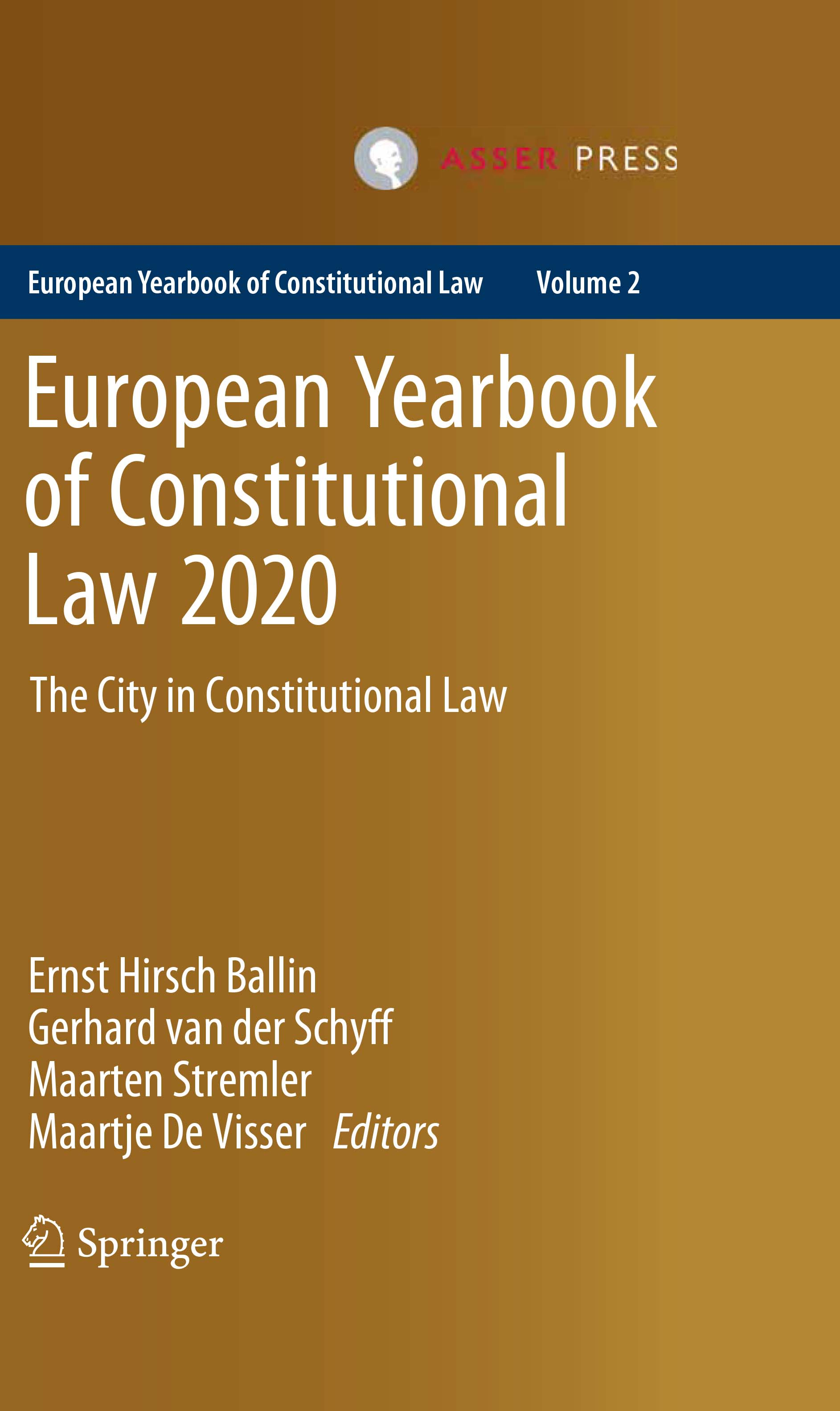 European Yearbook of Constitutional Law 2020 - The City in Constitutional Law