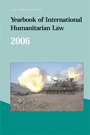 Yearbook of International Humanitarian Law - Volume 9, 2006