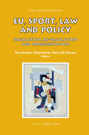 EU, Sport, Law and Policy - Regulation, Re-regulation and Representation