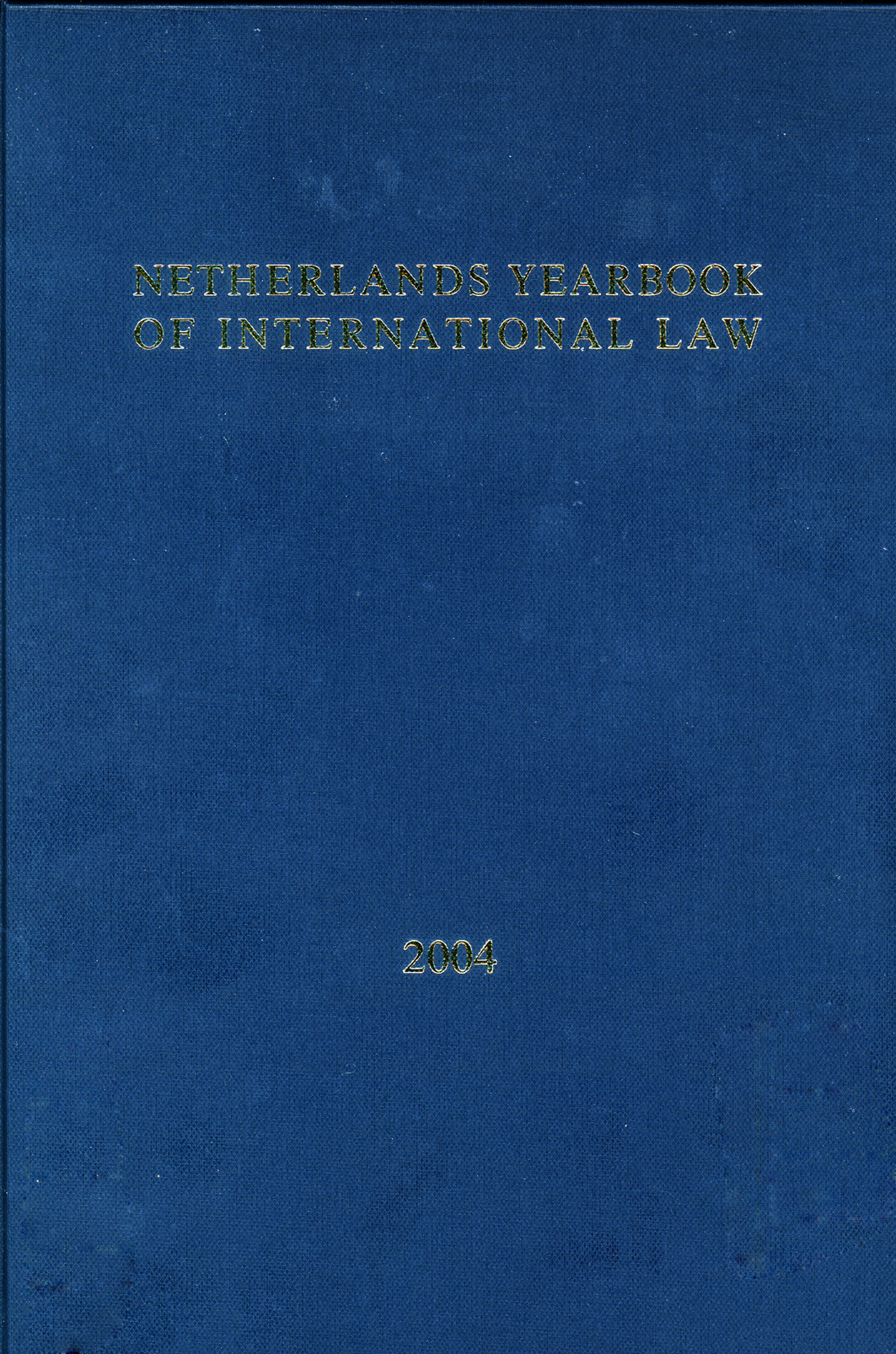 Netherlands Yearbook of International Law - Volume  35, 2004